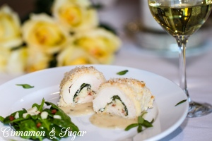 Gus's Too Date Night Stuffed Chicken Breast with Lemon-Tarragon Sauce2