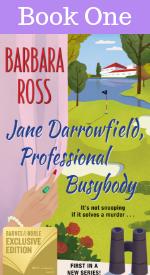 Book One: Jane Darrowfield, Professional Busybody